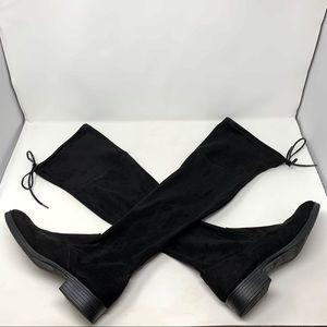 Circus by Sam Edelman Black OTK Boots Size 10